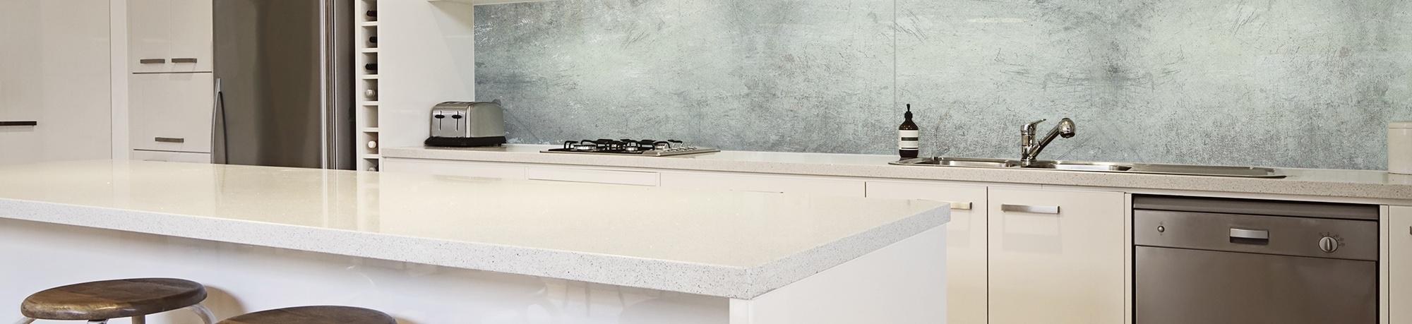 Küchenrückwände aus Glas-